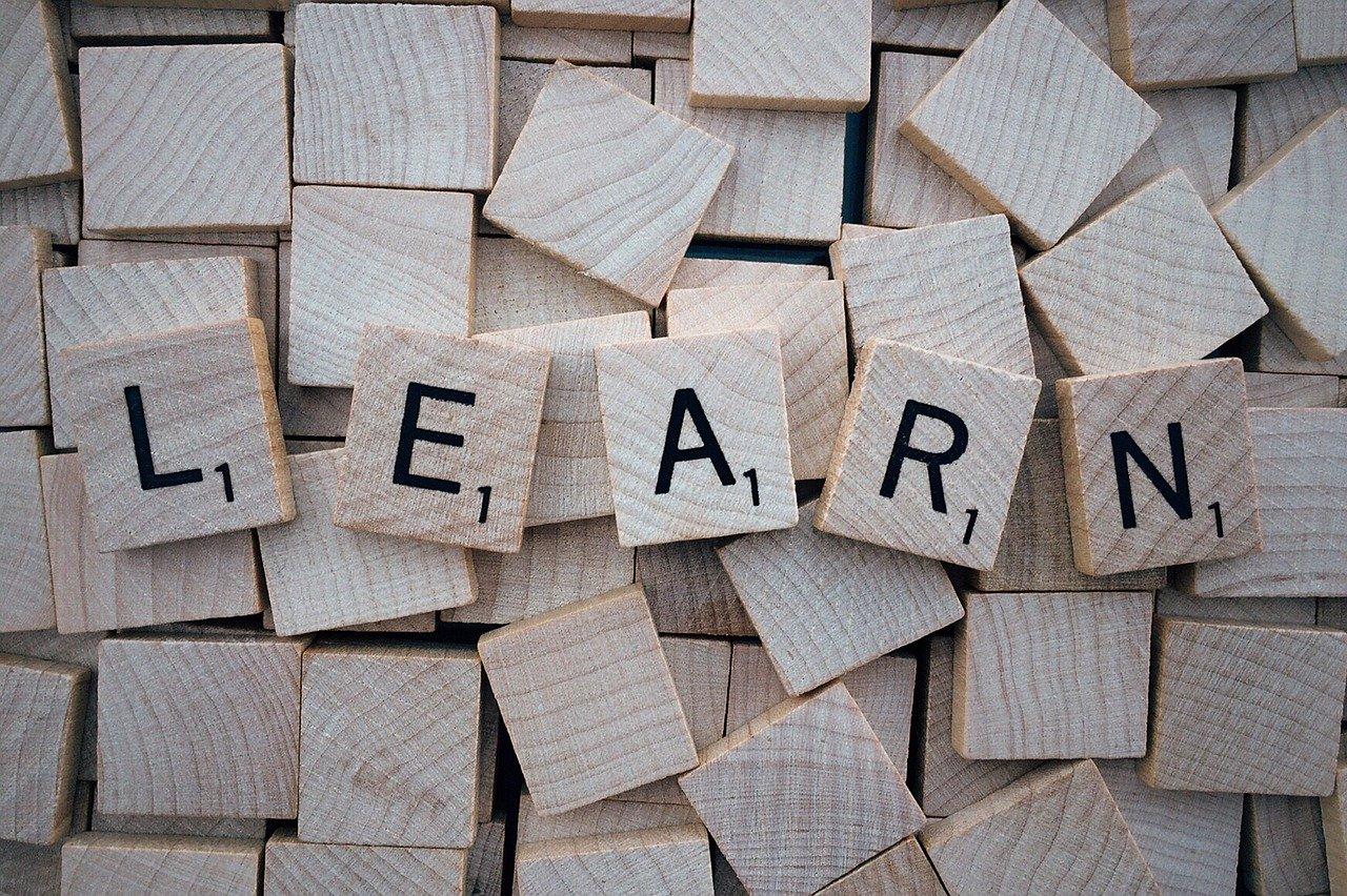 learn, word, scrabble